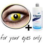 Kontaktlinsen gelb (Yellow Crow Eye) product image