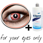 Lentilles rouges (Electro Red) product image