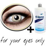 Golden contact lenses (Gold Sparkle) product image