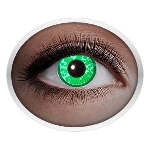 Green contact lenses (UV Green Diamond)