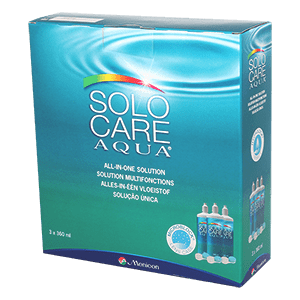 Menicon Solo Care Aqua - 3 x 360ml product image