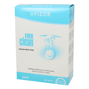 Avizor EVERclean 2x350ml and 90pcs Tablets product image