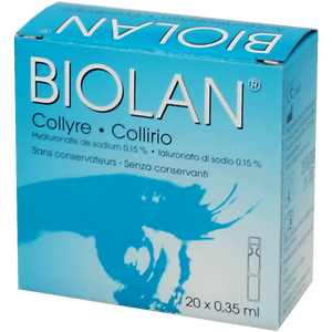 Biolan Collyre 20x0.35ml product image