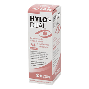 HYLO-Dual Tear drops 10ml product image