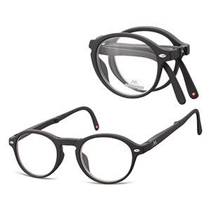 Foldable reading glasses Clever Black product image