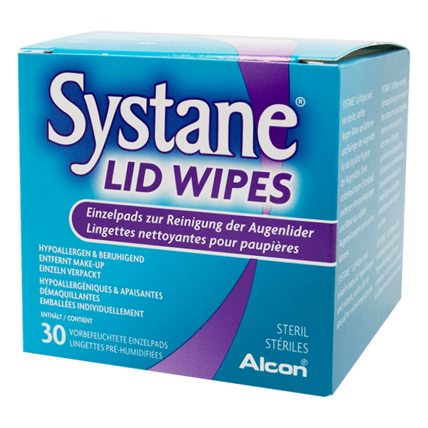 SYSTANE Lid Wipes 30 pièces
