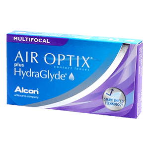 AIR OPTIX plus HydraGlyde Multifocal 3