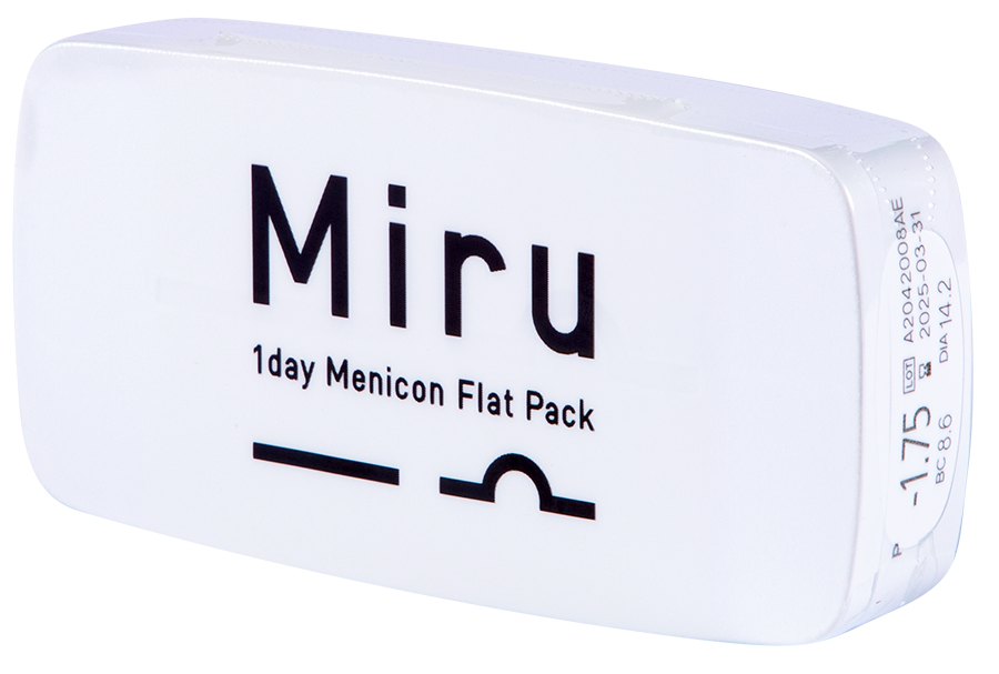 Miru 1Day Menicon Flat Pack - 30