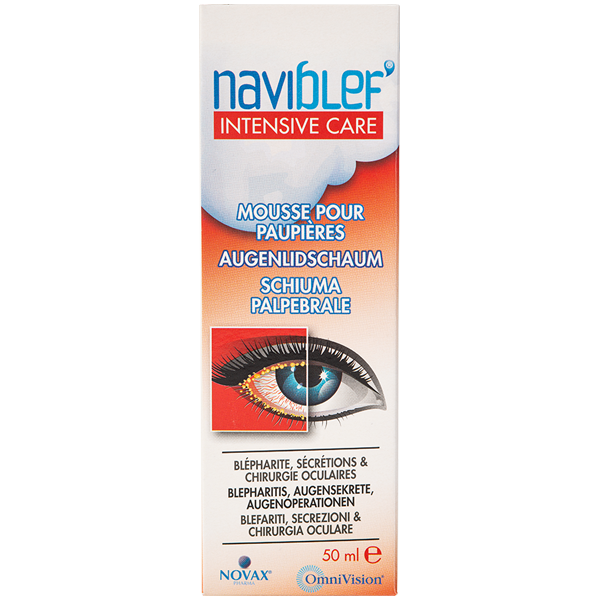Naviblef Intensive Care Augenlidschaum 50ml