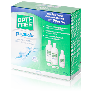OptiFree Puremoist 2x300ml plus 90ml